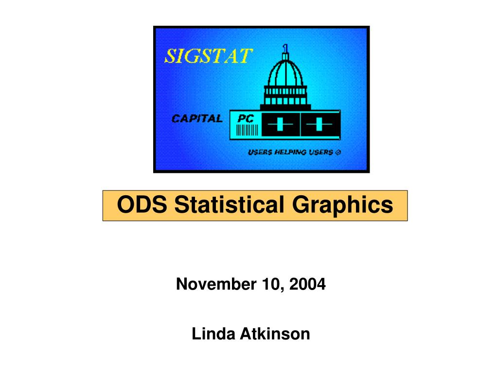 ODS Statistical Graphics