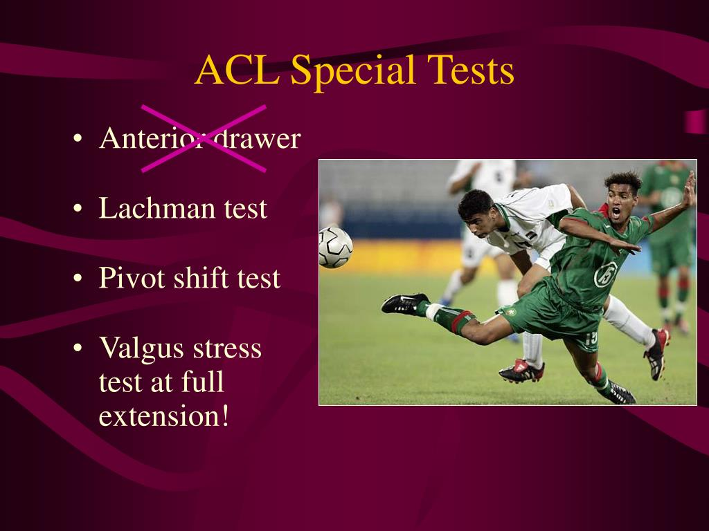 ACL Special Tests