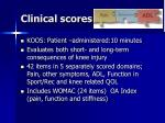 clinical scores