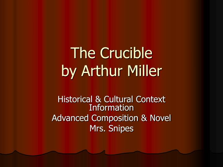 essay questions on the crucible by arthur miller college paper  essay questions on the crucible by arthur miller