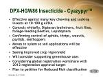 dpx hgw86 insecticide cyazypyr7
