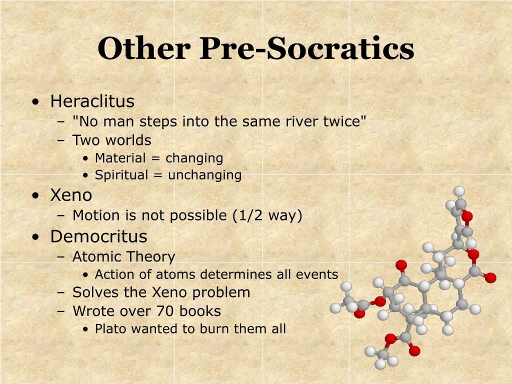 Other Pre-Socratics
