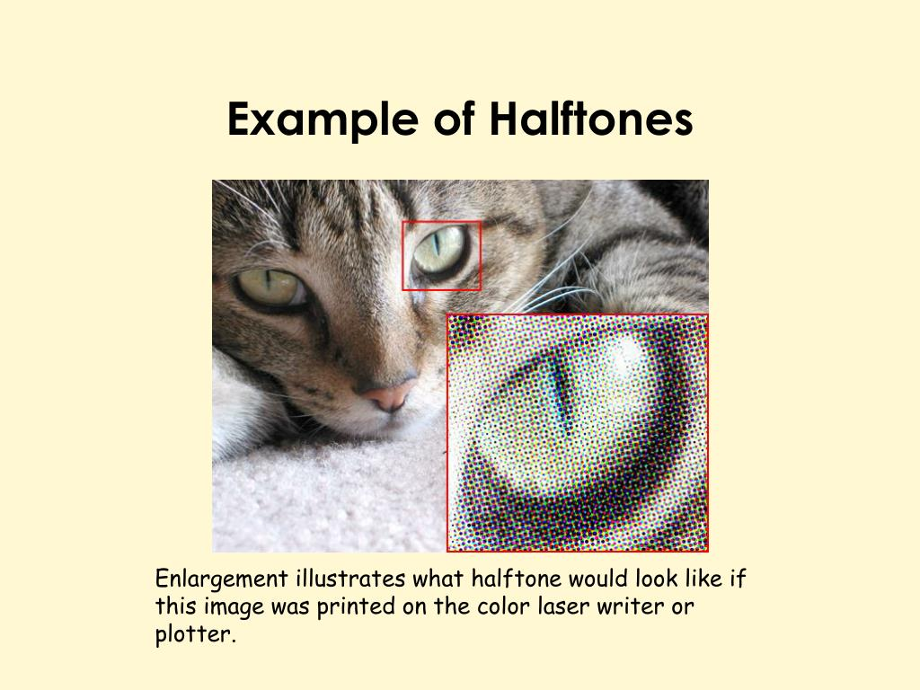 Example of Halftones