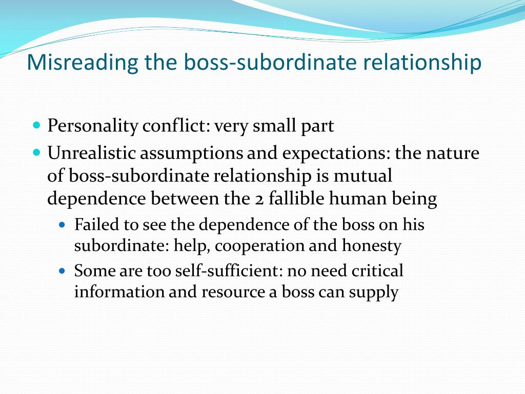 supervisor dating subordinate No-dating policies no-dating policies generally ban dating between a supervisor and their subordinate employment attorney anna cohen, writing in hr hero online, suggests that no-dating policies can be problematic, as it is difficult to define exactly the type of behavior that will be restricted.