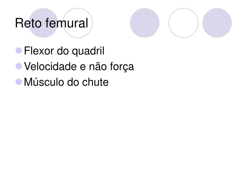 Reto femural