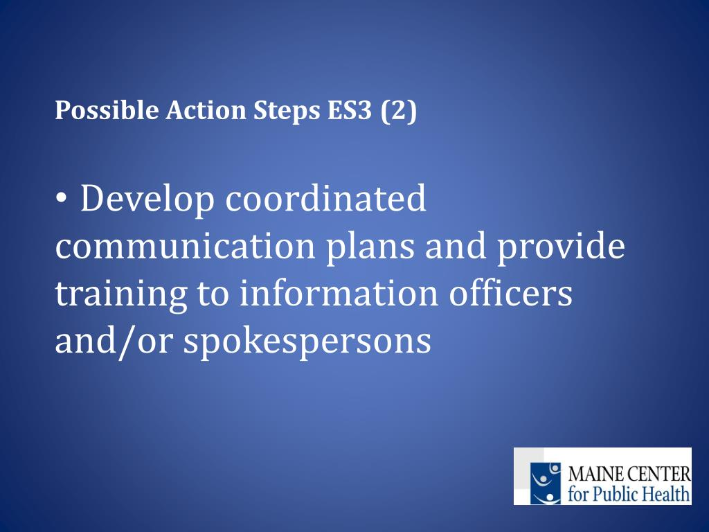Possible Action Steps ES3 (2)