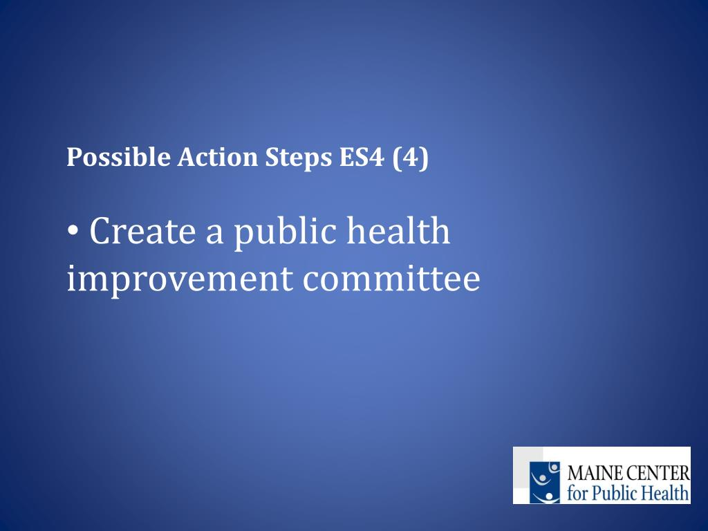 Possible Action Steps ES4 (4)