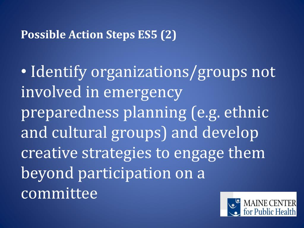 Possible Action Steps ES5 (2)