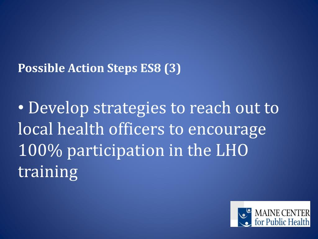 Possible Action Steps ES8 (3)