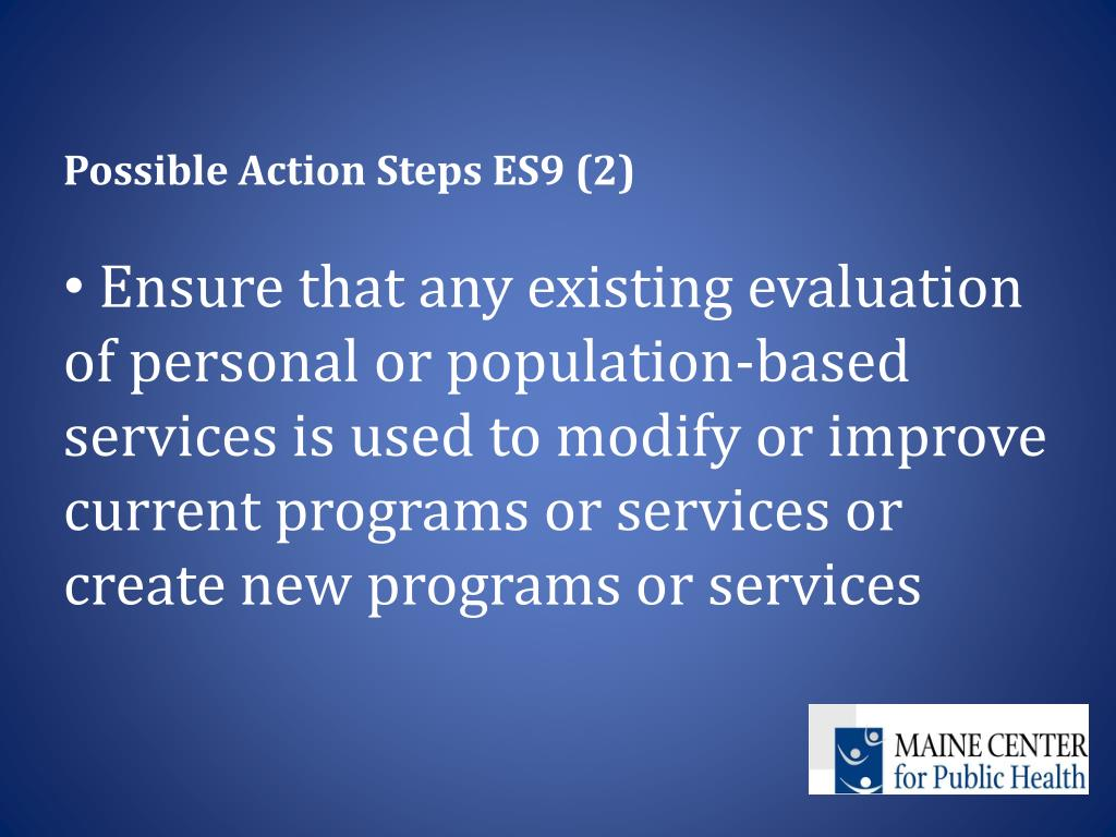 Possible Action Steps ES9 (2)
