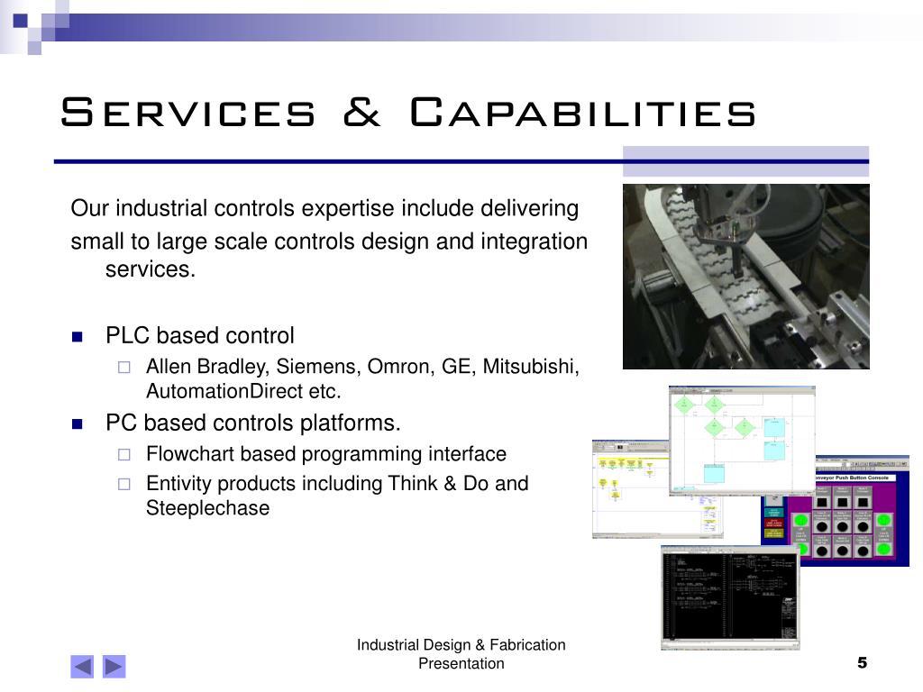 Services & Capabilities