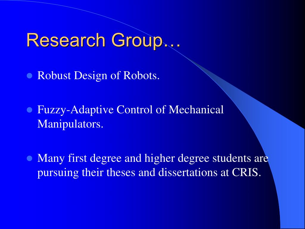 Research Group…
