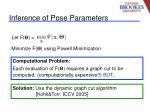 inference of pose parameters20