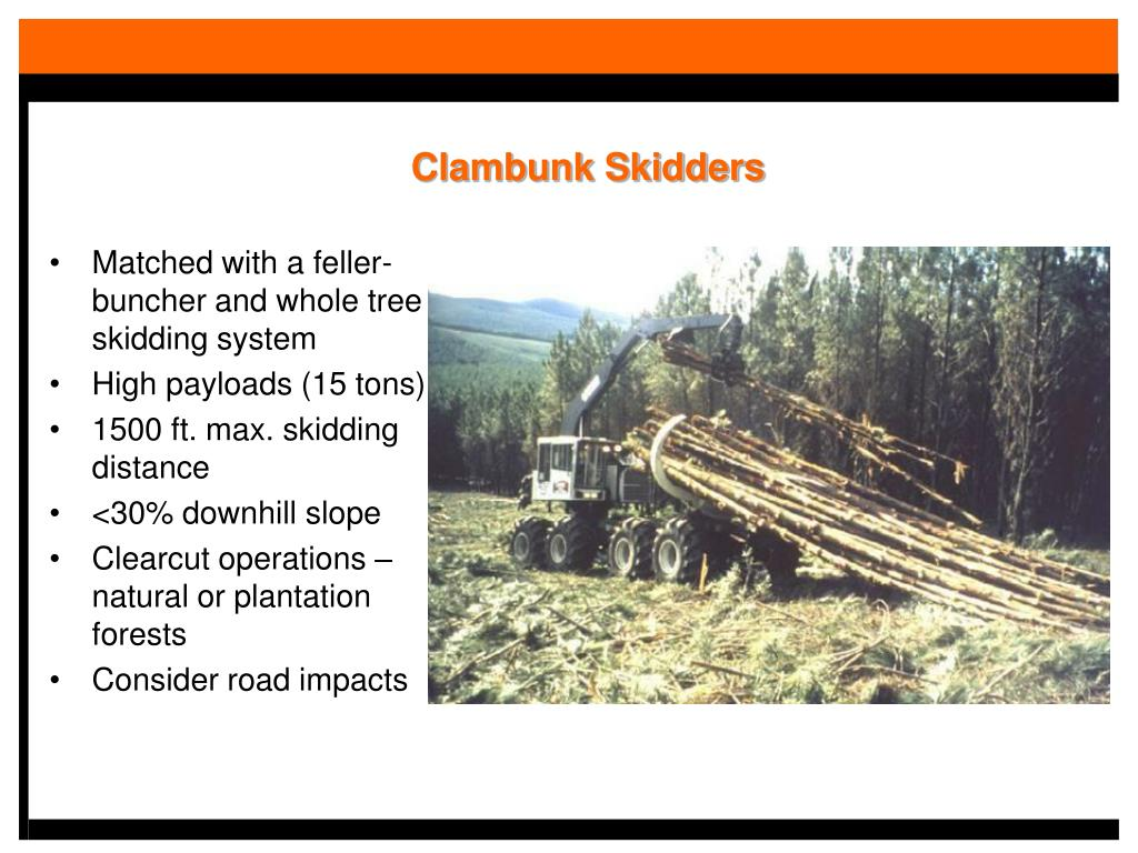 Clambunk Skidders