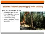 excavator forwarder shovel logging or hoe chucking21