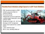 flexible track skidders high speed or lgp track skidder