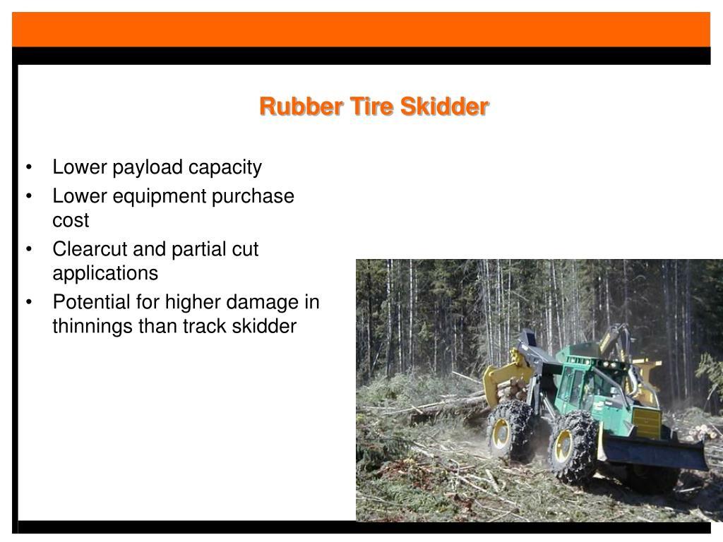 Rubber Tire Skidder