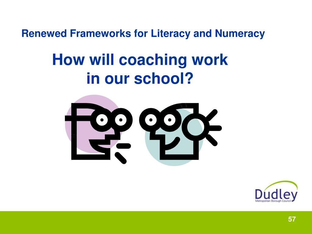 Renewed Frameworks for Literacy and Numeracy
