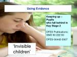 using evidence27