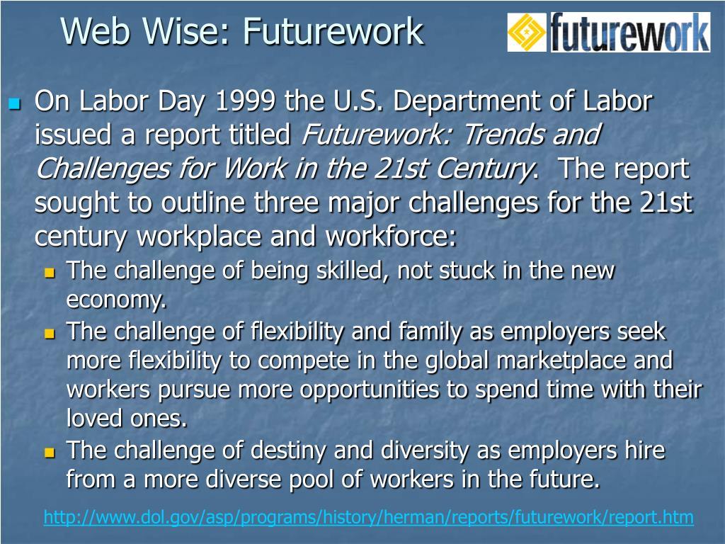 Web Wise: Futurework