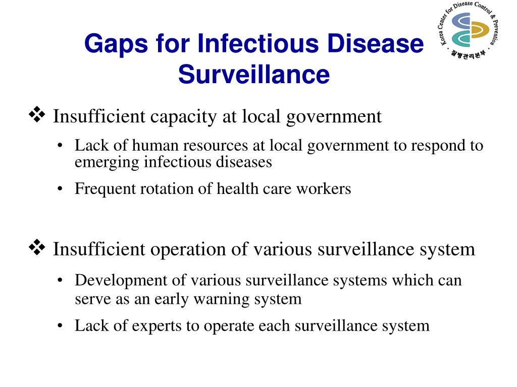 Gaps for Infectious Disease Surveillance