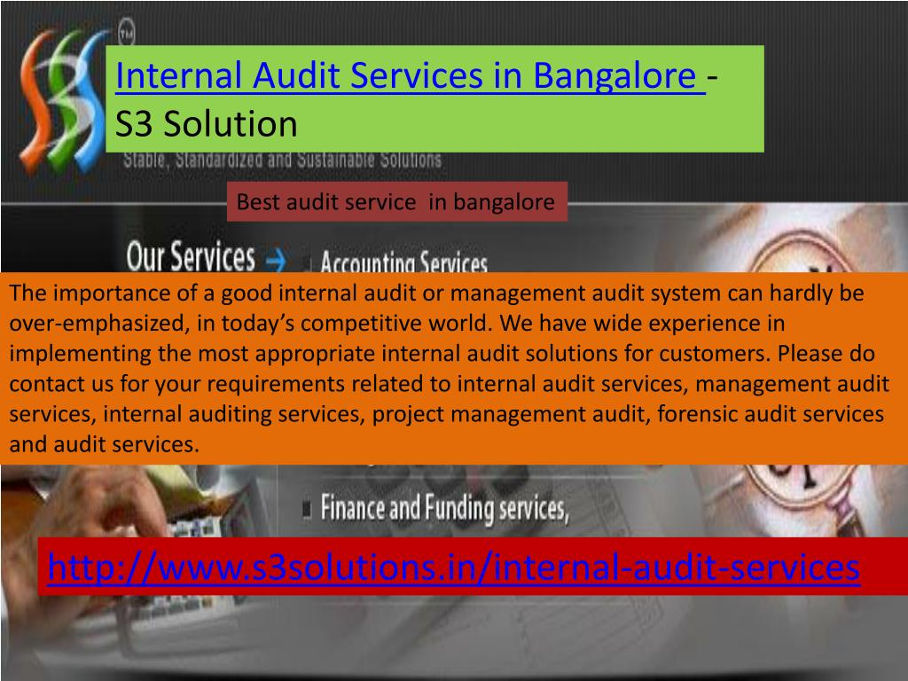 Internal Audit Services in