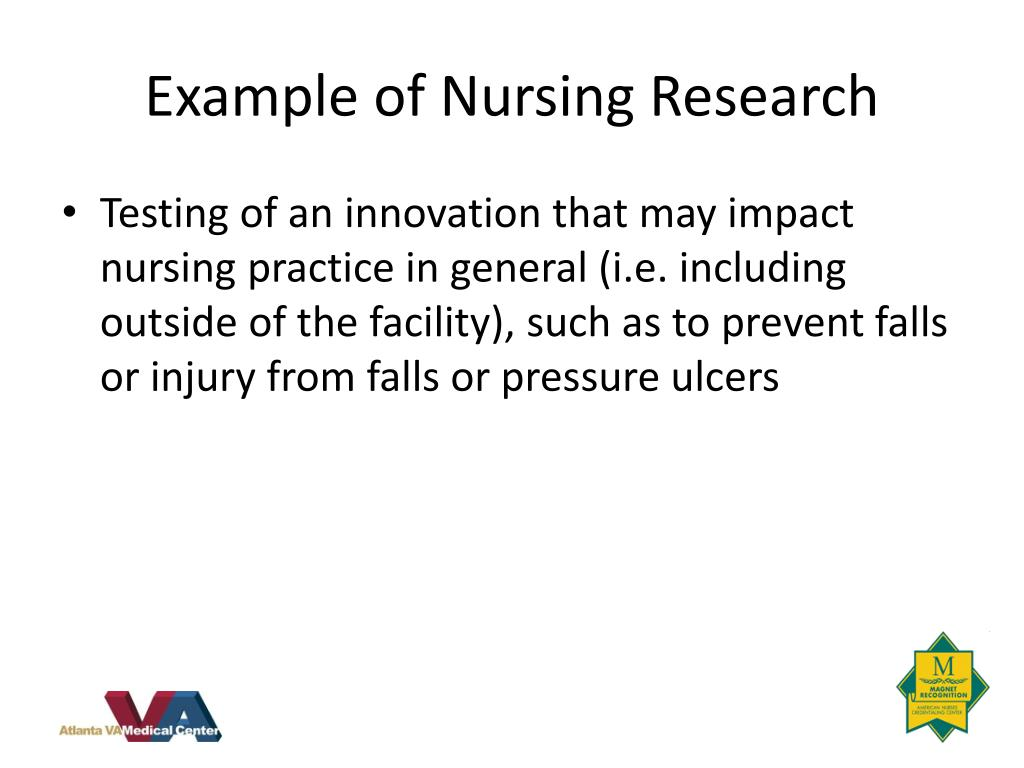 Example of Nursing Research