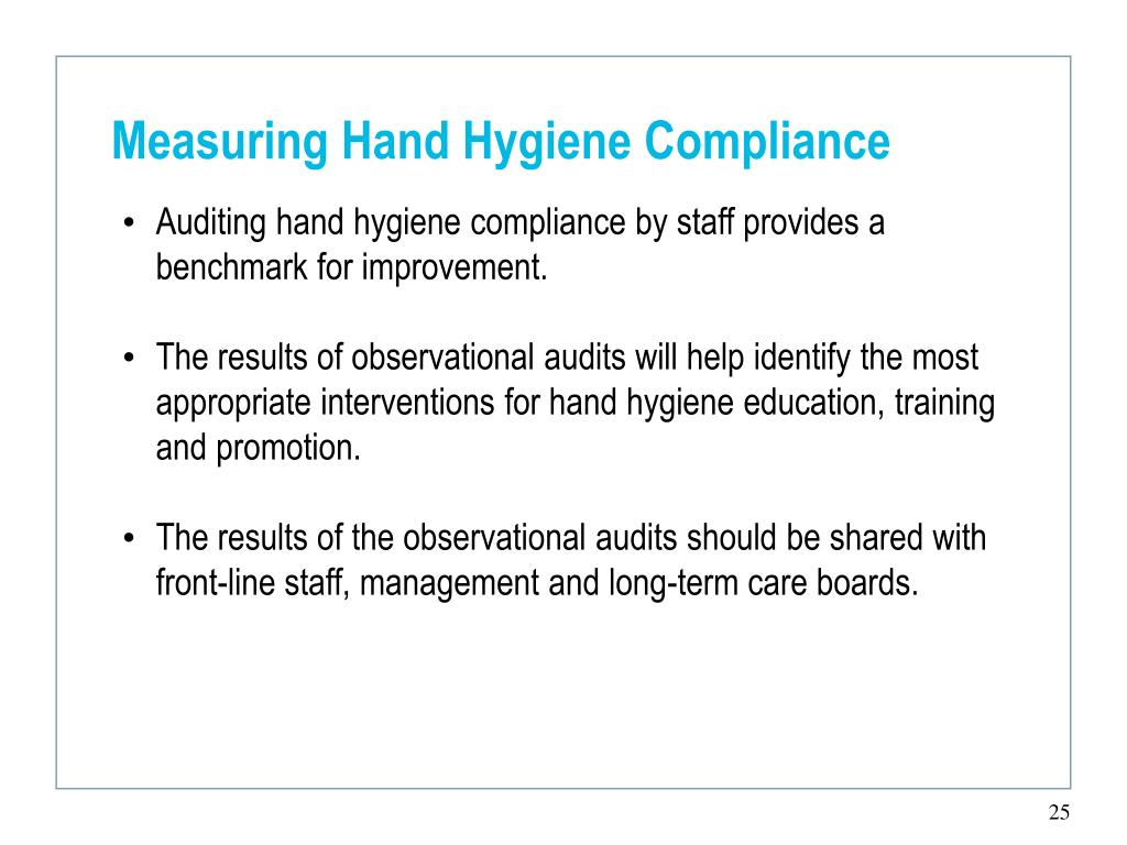 Measuring Hand Hygiene Compliance