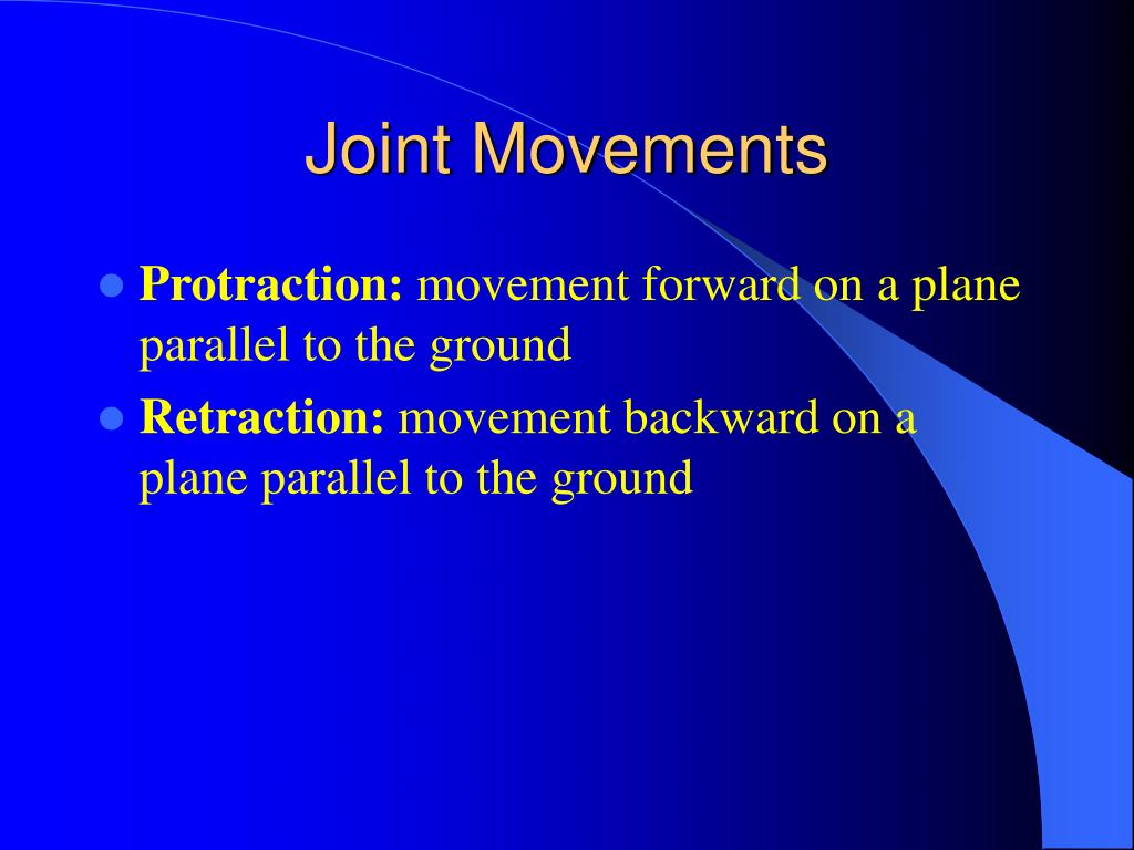 Joint Movements