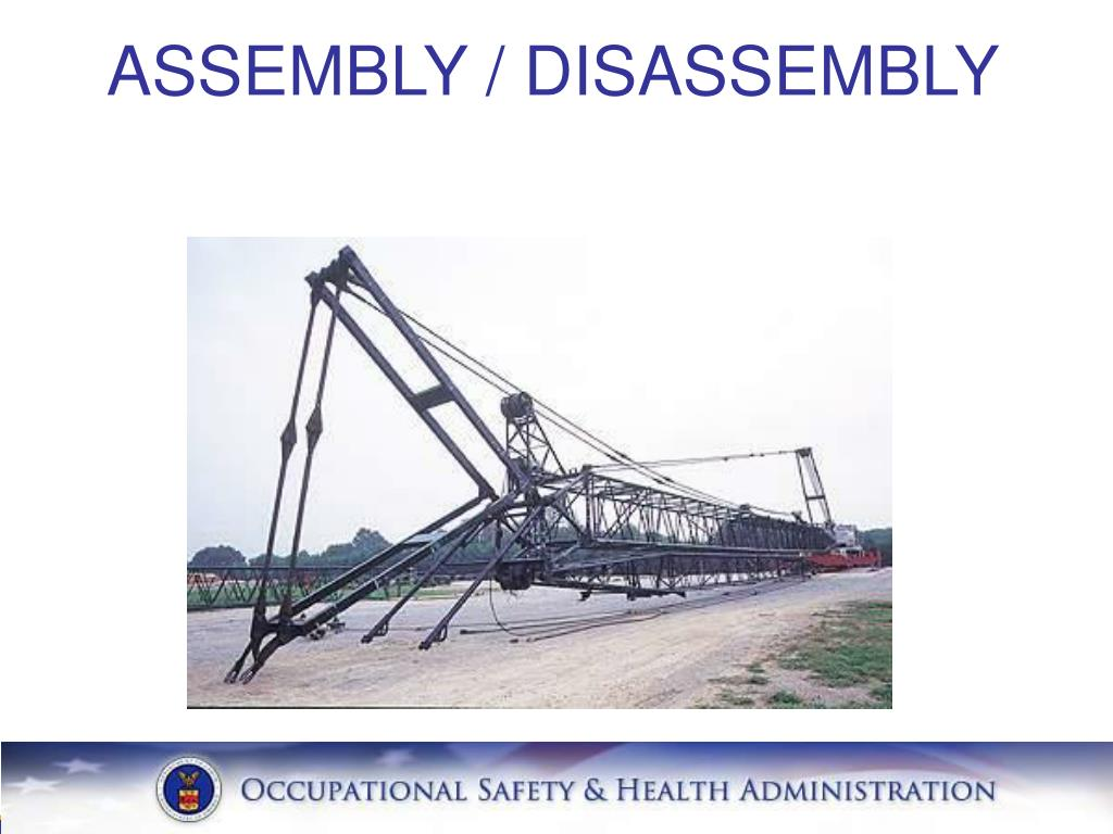 ASSEMBLY / DISASSEMBLY