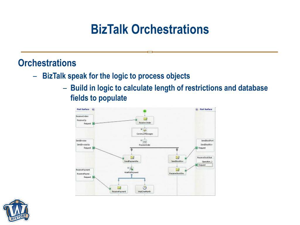 BizTalk Orchestrations