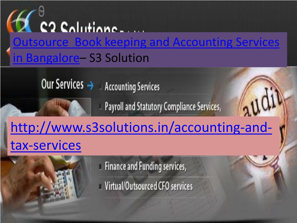 Outsource  Book keeping and Accounting