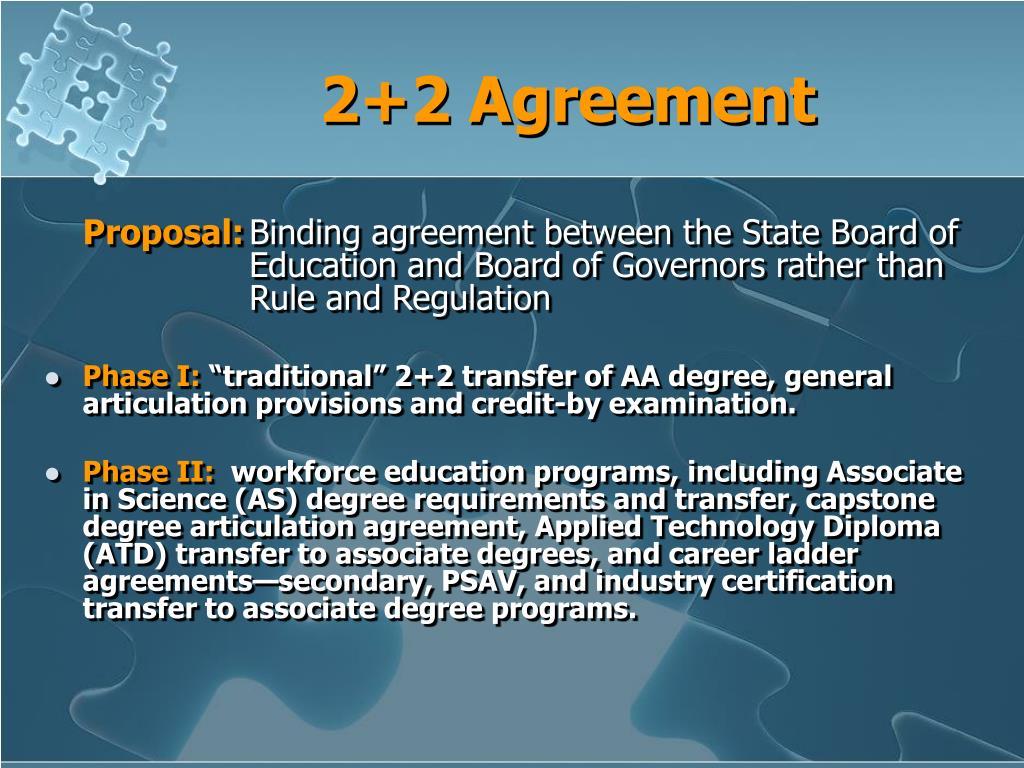 2+2 Agreement