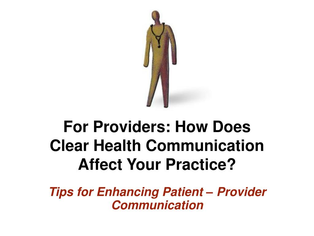 For Providers: How Does