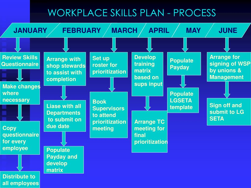 WORKPLACE SKILLS PLAN - PROCESS