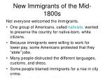 new immigrants of the mid 1800s5