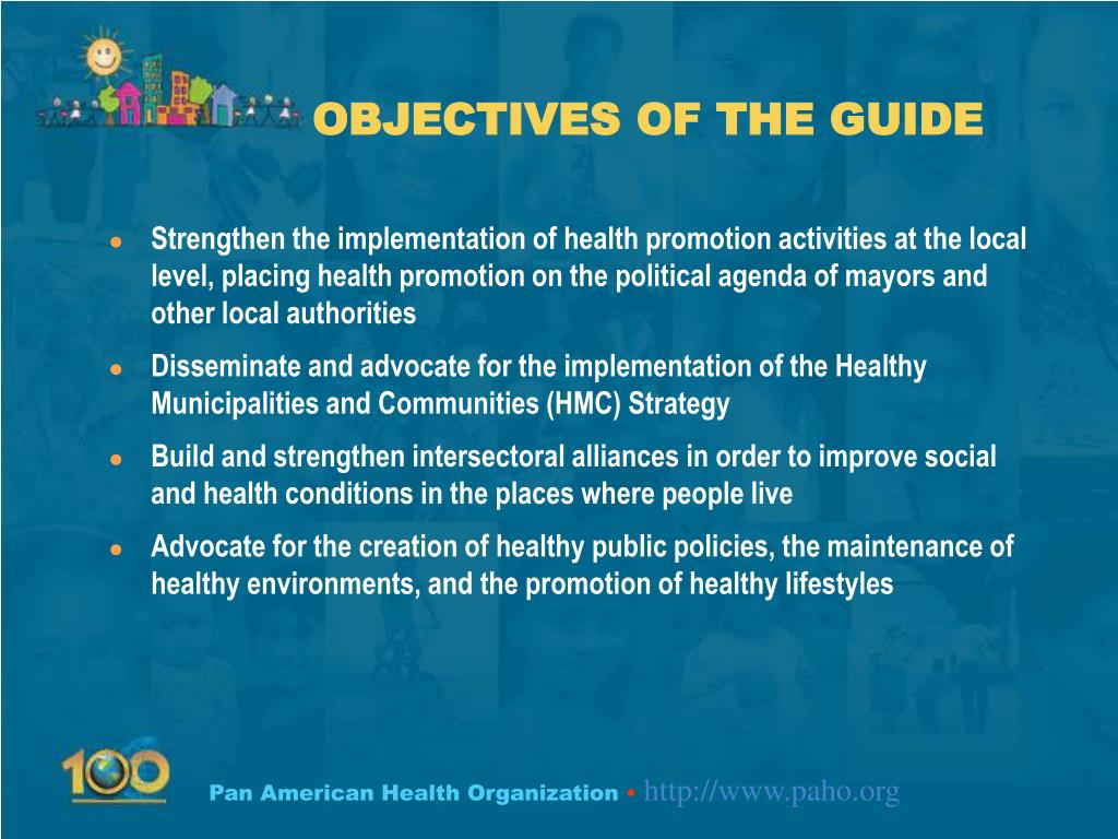 OBJECTIVES OF THE GUIDE