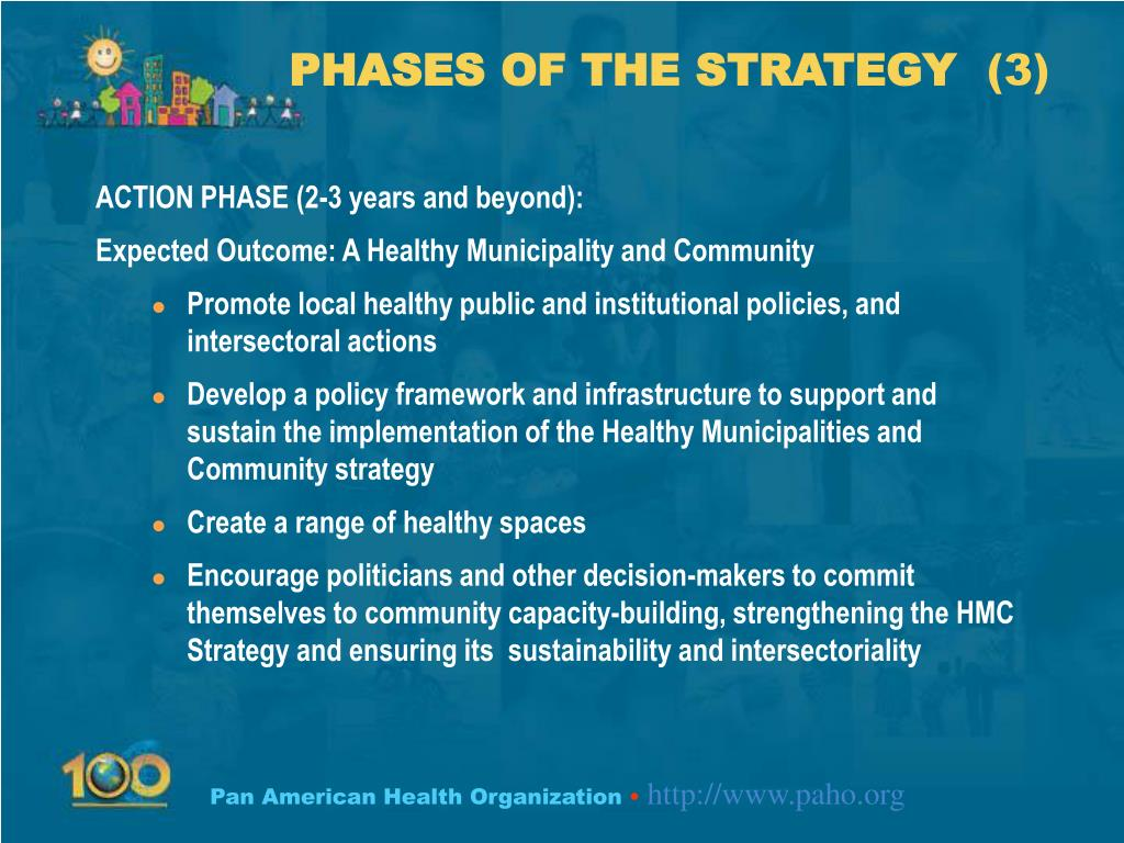 PHASES OF THE STRATEGY