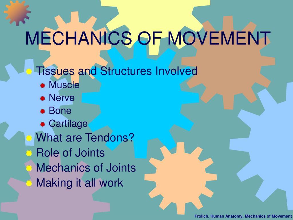 MECHANICS OF MOVEMENT