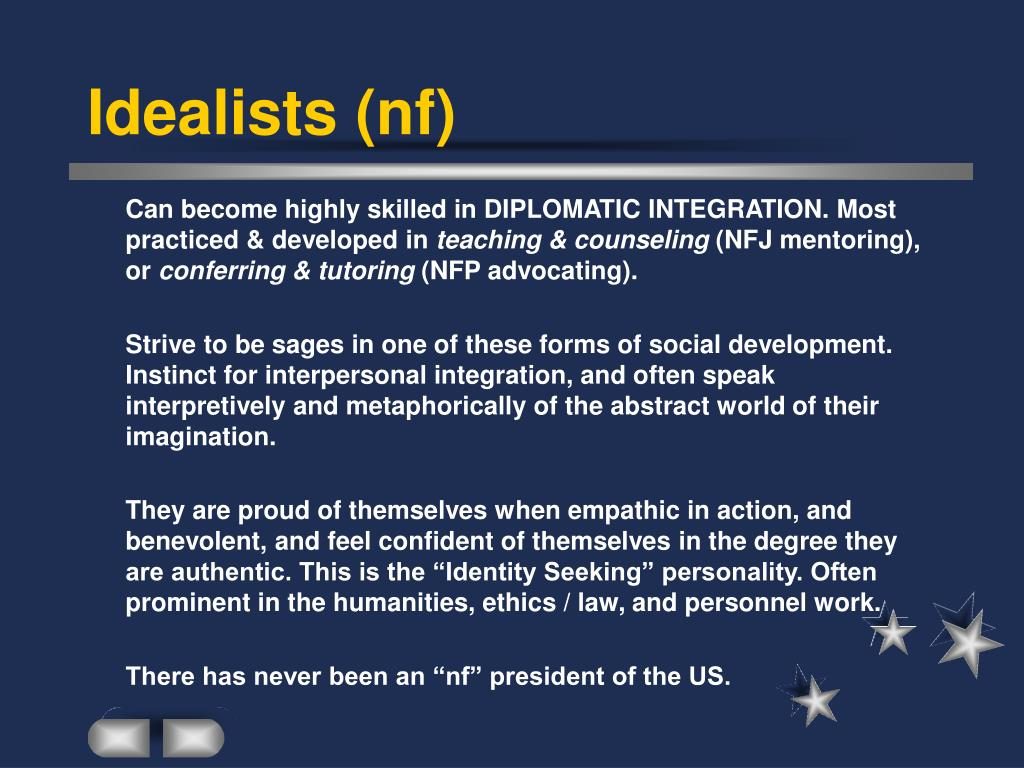 Idealists (nf)