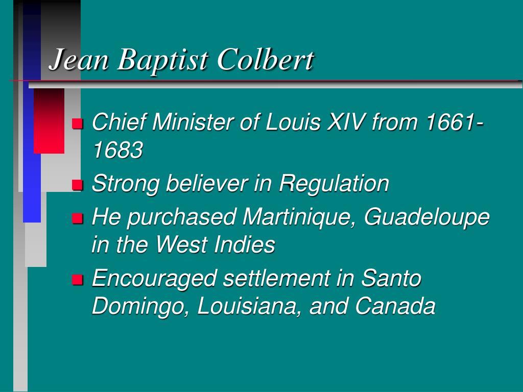 Jean Baptist Colbert