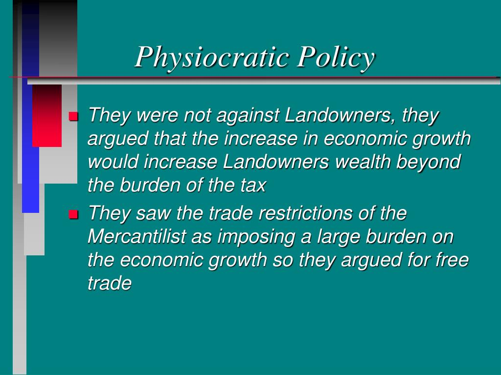 Physiocratic Policy