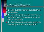 von hornick s blueprint