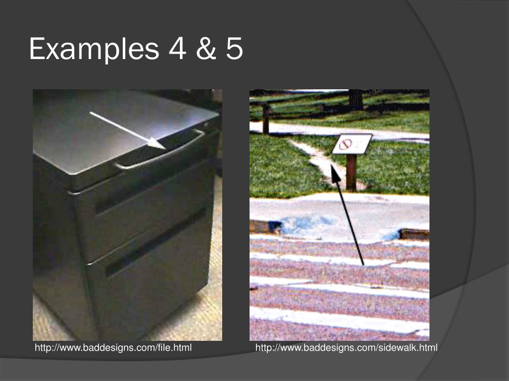 Examples 4 & 5