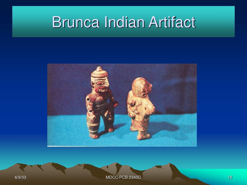 Brunca Indian Artifact