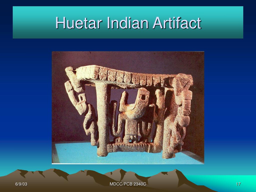 Huetar Indian Artifact