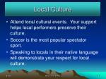 local culture26