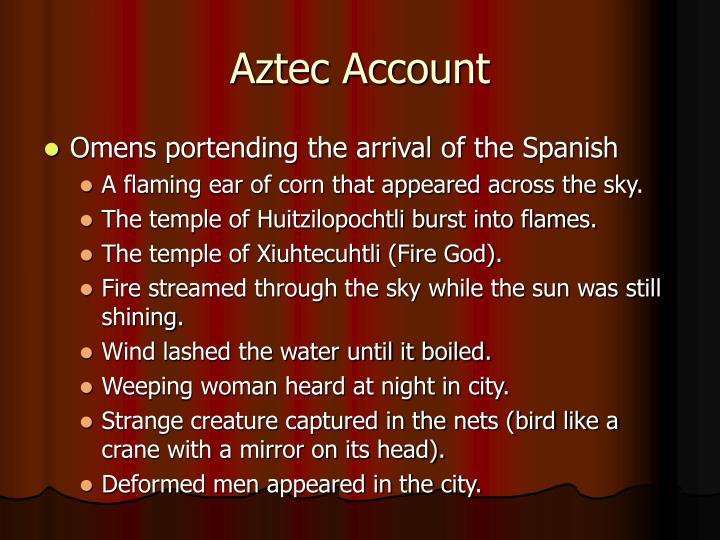 Aztec Account