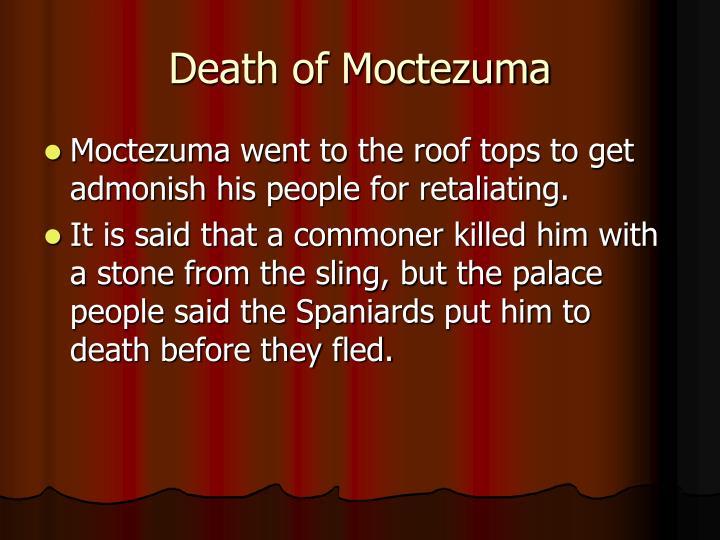 Death of Moctezuma