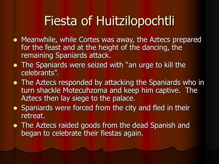 Fiesta of Huitzilopochtli